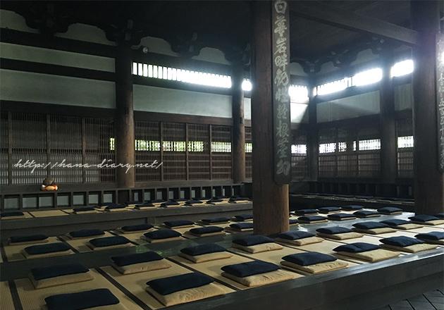 京都東福寺の日曜坐禅会。お寺の座禅でマインドフルネス