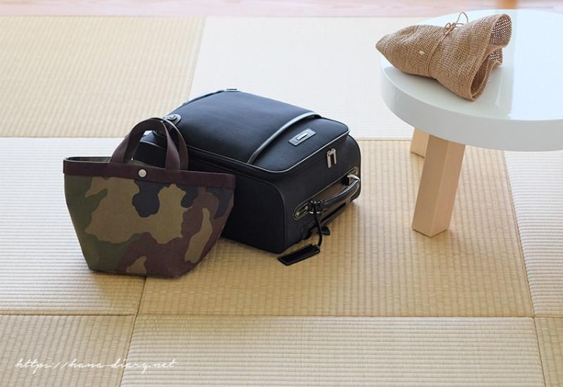 ミニマリストの国内旅行の荷物の持ち物。宮古島・沖縄5泊6日