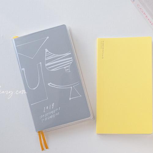 無印良品MUJI しおりシールとクツワのクリアカバー で北欧、暮らしの道具店のクラシ手帳を使いやすくカスタマイズ
