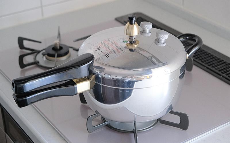 平和ピース圧力鍋PC-45A 玄米がおいしく炊ける圧力鍋